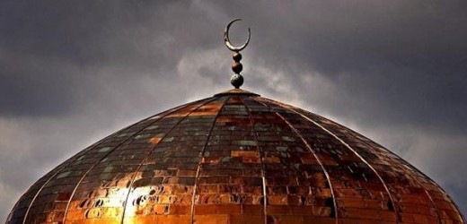 Mosque roof_stormy skies