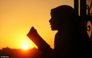 Ramadan and sunset