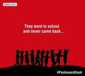Praying for Victims in Peshawar, Praying for Humanity
