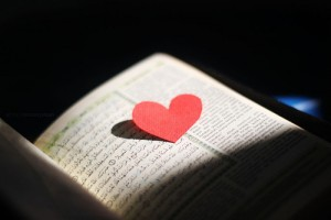Quran and heart