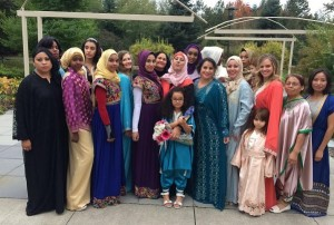 Modest Muslim Fashion Show Caters to Mixed-Gender Audience