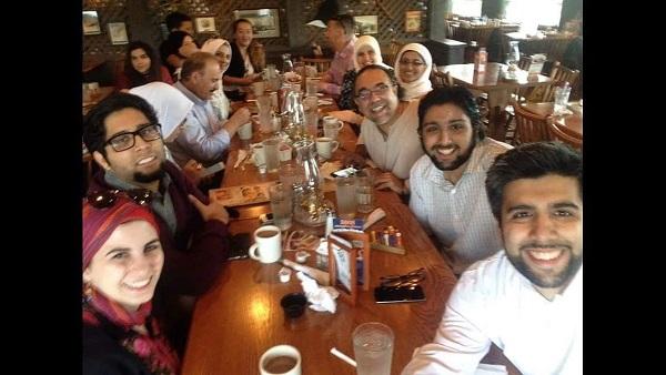 The Barzinji family. Photo courtesy of Zaki Barzinji
