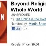 Free book from H.H. the Dalai Lama