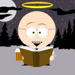 The author, as he would appear on South Park.