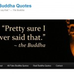 Fake Buddha Quotes