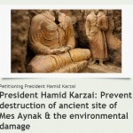 New Petition to save the Mes Aynak Buddhas