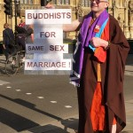 Buddhists for same sex marriage! England.