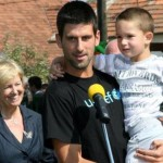 "Novak Djokovic, UNICEF National Ambassador for Serbia and the celebrated tennis champion, visited the ""Beneath the Linden Trees"" kindergarten in the village of Lesnica, 150 km west of the Belgrade capital, to raise awareness of the importance of investment in early development and early childhood learning. During the visit, Novak spent time with the children, talked to their parents and caregivers, and met with local authorities. (Photo: Tanjug)"