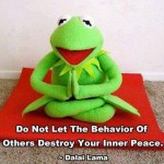 A short message from Kermit the Frog and the Dalai Lama
