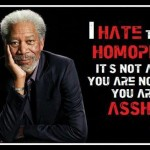 morgan freeman on homophobia
