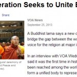 Buddhists of the World Unite