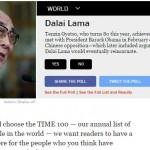 Dalai Lama Time 100