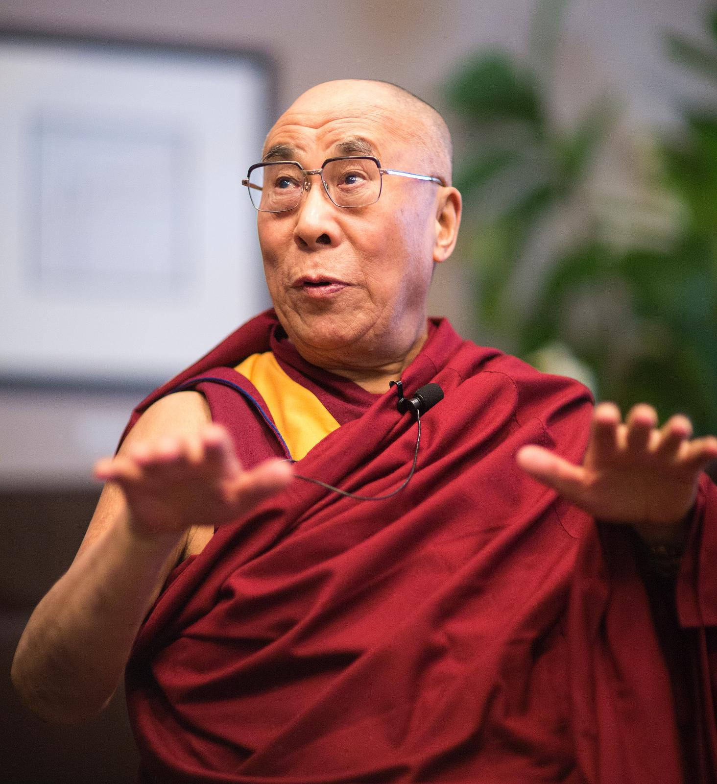 Dalai lama (2012) by Christopher Michel