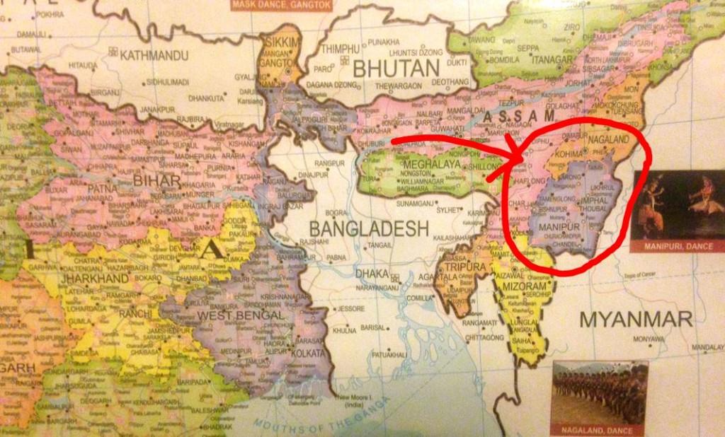 india earthquake manipur