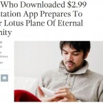 "<i>The Onion</i> takes on popular Buddhist ""meditation apps"""