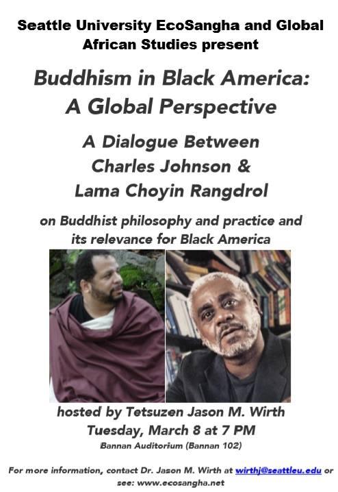 lama choyin rangdrol and charles johnson black buddhism