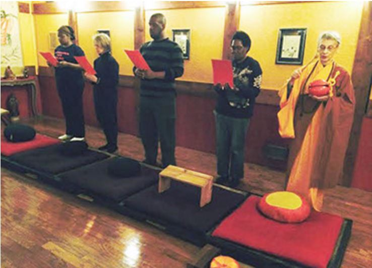 Among the Sangha: An African American Buddhist in the Zendo