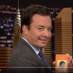 Luke Wilson gives Jimmy Fallon the Shambhala pocket Chögyam Trungpa