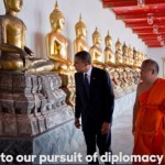 A glimpse of Buddhism in Obama's endorsement of Hillary Clinton