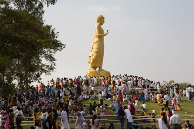 Nagpur Walking Buddha