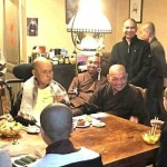 Thich Nhat Hanh 90th birthday photo