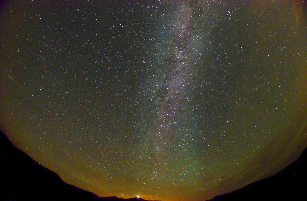night sky over Montana - August 2015