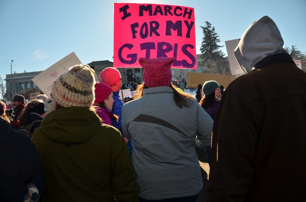 I march for my Girls