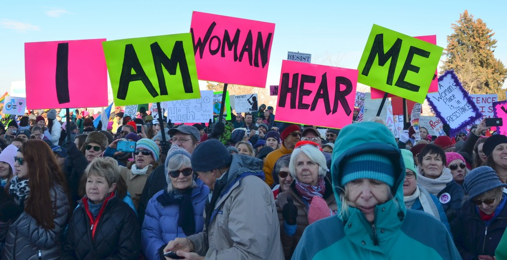 I am Woman Hear Me