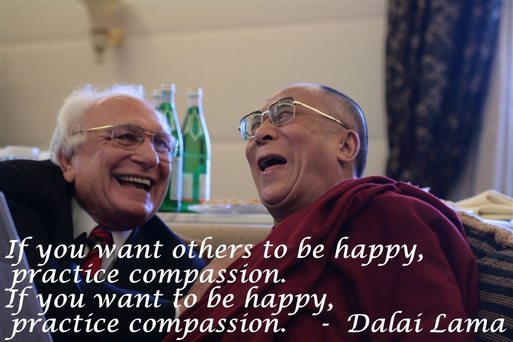 Psychologists test the Dalai Lama's teaching on Compassion, and it works