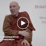 Bhikkhu Bodhi on Mindfulness in the Buddha's Words