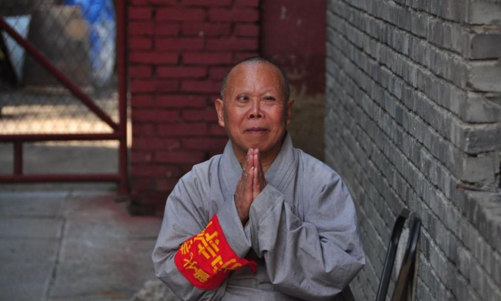 wutai shan monk china