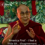 "The Dalai Lama criticizes Trump's ""America First"" policy"