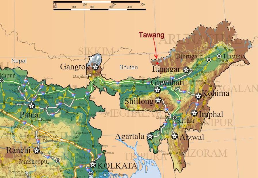 Tawang india dalai lama