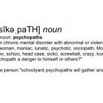 Psychopath Definition Andy Gill Patheos