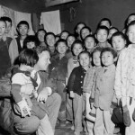 Bob Pierce and Korean orphans in the 1950s