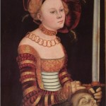 One of Lucas Cranach's several renderings of Judith.