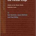 Mani and the Persian Kings