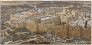 James Tissot, Reconstruction of Jerusalem and the Temple of Herod, ca. 1886-1894