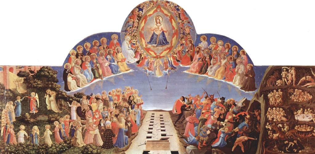 Fra Angelico, The Last Judgment (ca. 1431).