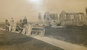 Stonehenge_with_farm_carts,_c._1885
