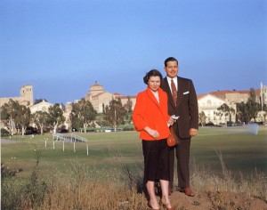 Vonette and Bill Bright at UCLA, 1951 (Courtesy of Cru)