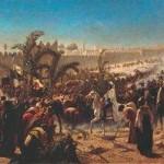 The King's Son Enters Jerusalem