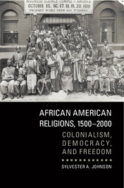 Johnson, African American Religions