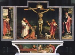 """Grünewald, """"Crucifixion"""""""