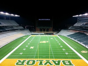 McLane Stadium at Baylor University