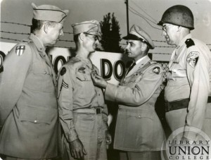 Desmond Doss and Everett Dick in the 1950s