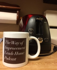 The Way of Improvement Leads Home Podcast mug
