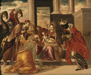 El Greco's painting of the Three Wise Men