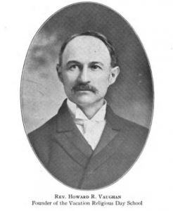 Portrait of H.R. Vaughan from Stafford's 1920 VBS manual