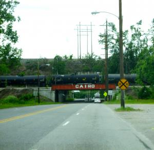 Cairo, Illinois, c. 2009. Photograph taken by the author.